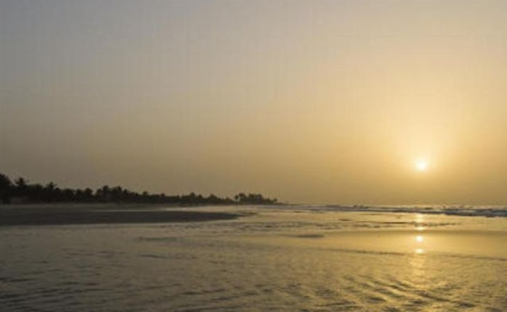 Gambia, Sunset Beach